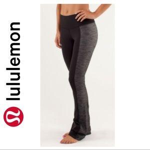 Lululemon Black Grey Barre Pulse Pants
